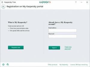 Enlarge Kaspersky Free Screenshot