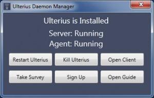 Enlarge Ulterius Screenshot
