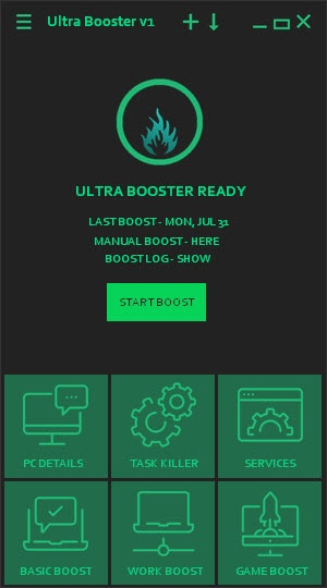 Enlarge Ultra Booster Screenshot