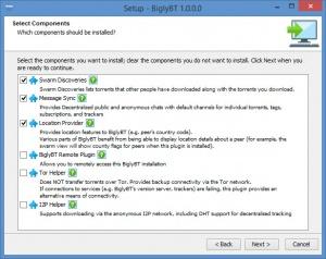 Enlarge BiglyBT Screenshot