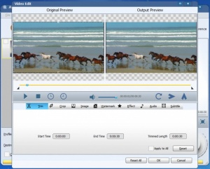 Enlarge Avdshare Video Converter Screenshot