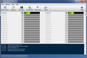 Enlarge VRS Recording System Screenshot