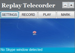 Enlarge Replay Telecorder Screenshot