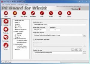 Enlarge PC Guard Screenshot