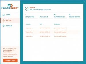 Enlarge MalwareBuster Screenshot