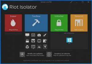 Enlarge Riot Isolator Screenshot