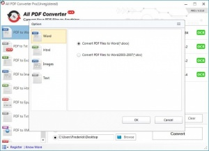 Enlarge All PDF Converter Screenshot