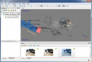 Enlarge Agisoft PhotoScan Screenshot