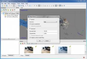 Enlarge Agisoft PhotoScan Screenshot