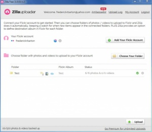 Enlarge Zilla Uploader Screenshot