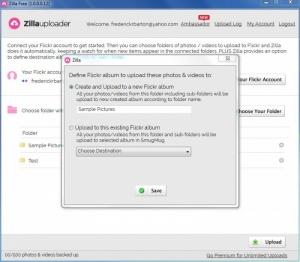 Enlarge Zilla Uploader Screenshot