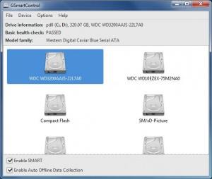 Enlarge GSmartControl Screenshot