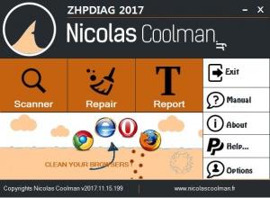 Enlarge ZHPDiag Screenshot