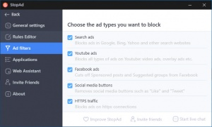 Enlarge StopAd Screenshot
