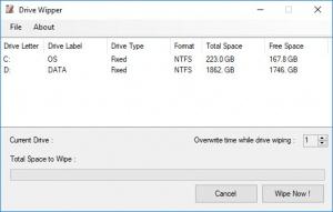 Enlarge Drive Wipper Screenshot