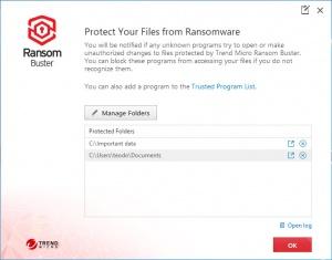 Enlarge Ransom Buster Screenshot