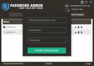 Enlarge Password Armor Screenshot