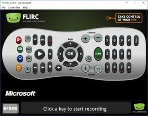 Enlarge Flirc Screenshot