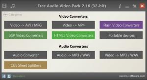 Enlarge Free Audio Video Pack Screenshot