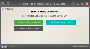 Enlarge Free Audio Video Pack Screenshot