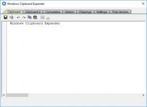 Enlarge Windows Clipboard Expander Screenshot