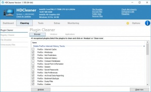 Enlarge HDCleaner Screenshot