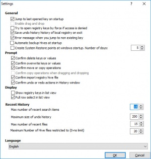 Enlarge RegCool Screenshot