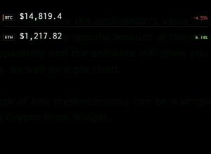 Enlarge Crypto Price Widget Screenshot
