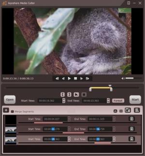 Enlarge Joyoshare Media Cutter Screenshot