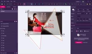 Enlarge Gravit Designer Screenshot