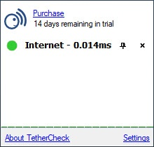 Enlarge Tether Check Screenshot