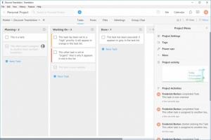 Enlarge Teambition Screenshot