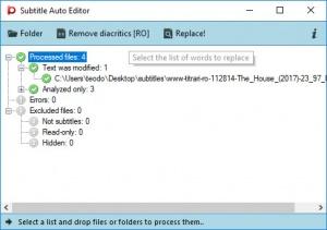 Enlarge Subtitle Auto Editor Screenshot