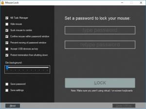 Enlarge Mouse Lock Screenshot