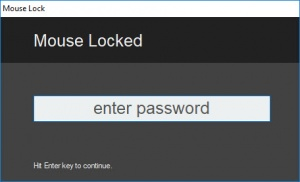 Enlarge Mouse Lock Screenshot