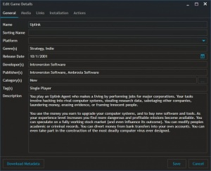 Enlarge Playnite Screenshot