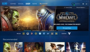Enlarge Blizzard Battle.net App Screenshot