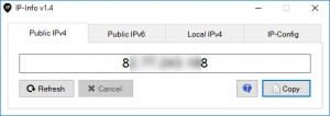 Enlarge IP-Info Screenshot