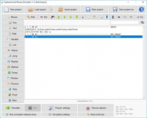 Enlarge Keyboard & Mouse Simulator Screenshot