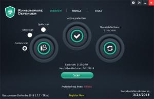 Enlarge Ransomware Defender Screenshot