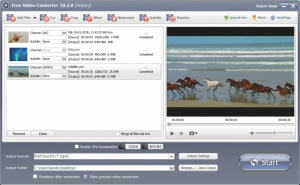 Enlarge GiliSoft Free Video Converter Screenshot