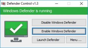 Enlarge Defender Control Screenshot