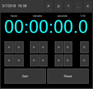 Enlarge Stopwatch312 Screenshot