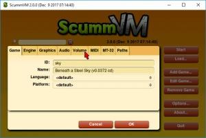 Enlarge ScummVM Screenshot