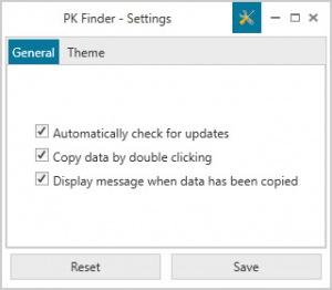 Enlarge PK Finder Screenshot