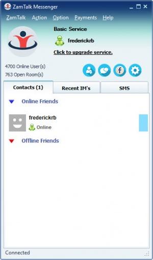 Enlarge ZamTalk Messenger Screenshot