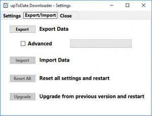 Enlarge upToDate Downloader Screenshot