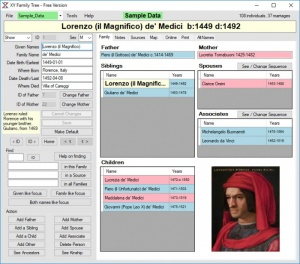 Enlarge XY Family Tree Screenshot