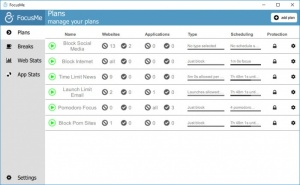 Enlarge FocusMe Screenshot