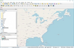 Enlarge QGIS Screenshot